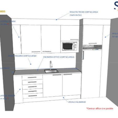 TECNOLOGIA - SKETCHUP SAGA - DESARROLLO DE PROYECTOS